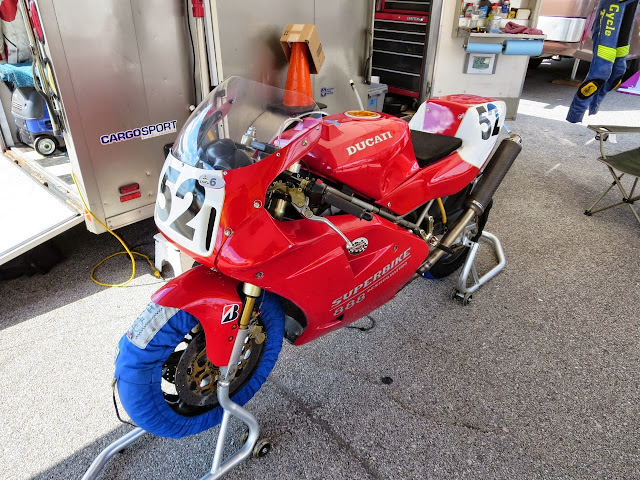 Ducati 888 Superbike Motorcycle Barber Vintage Festival