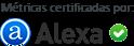 Métrica certificada por Alexa