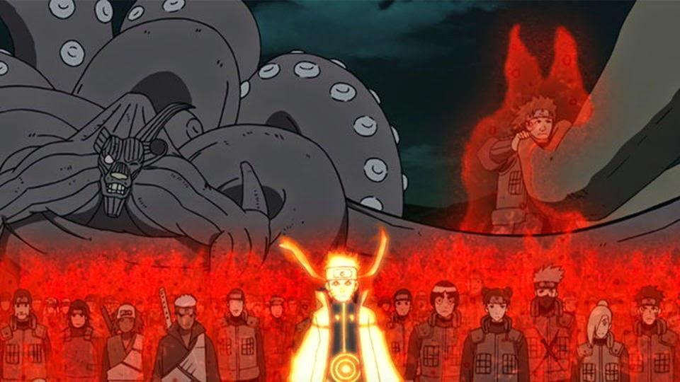 Naruto y la Alianza Shinobi