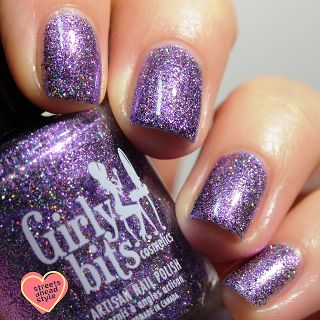 Girly Bits No More Tears swatch by Streets Ahead Style