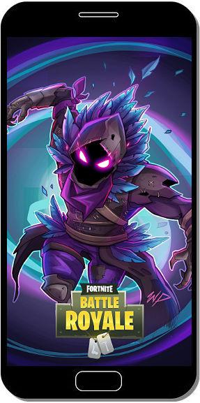 Fortnite Battle Royale Raven (le Corbeau) Titre - Fond d'Écran en QHD pour Mobile