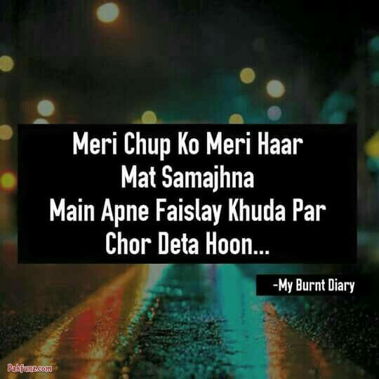 Meri Diary Se Love Quotes