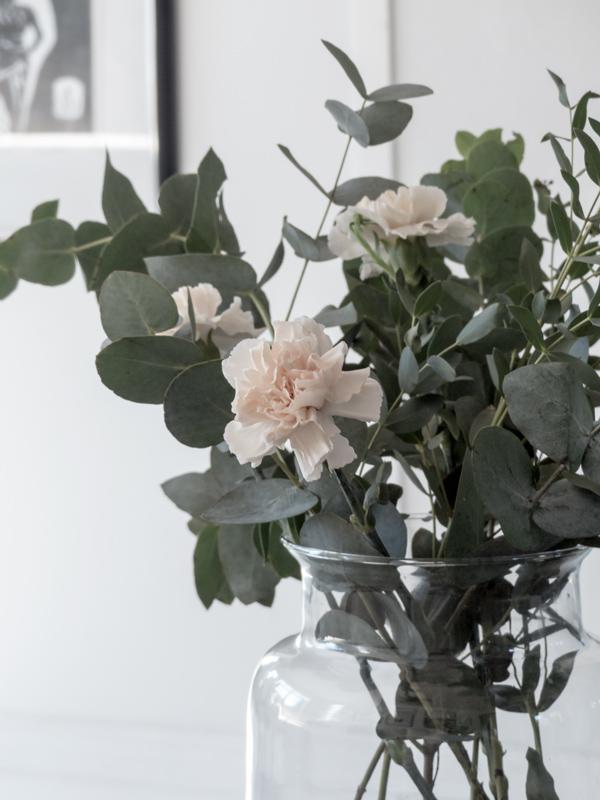 Eucalyptus, kiitollisuus, kiitollinen, kukkia, asetelmia, valokuvaus, ajatuksia