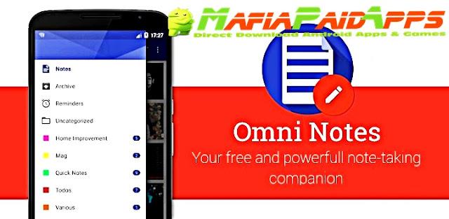 Omni Notes Apk MafiaPaidApps