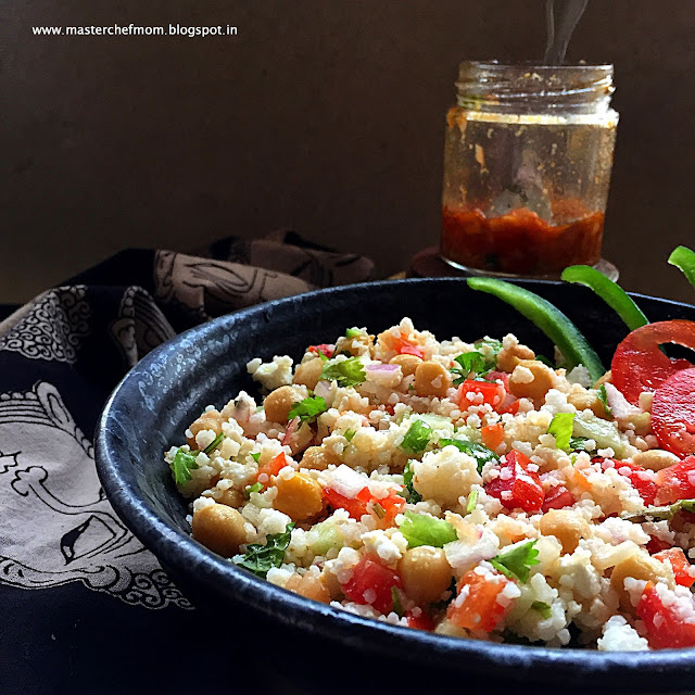 Indian Style Little Millet Salad