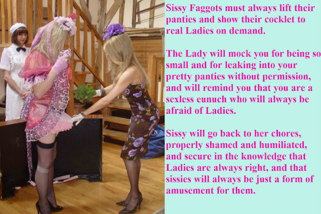 Obey Ladies rules Sissy TG Caption - Coerced Into Skirts - Crossdressing and Sissy Tales and Captioned images