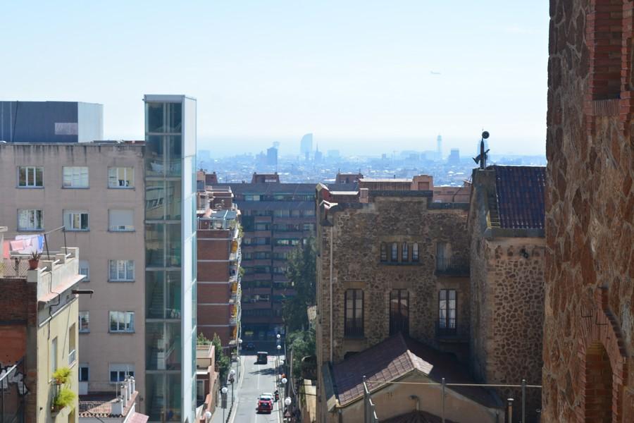 panorama sur les hauteus de Barcelone