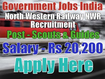 North Western Railway NWR Recruitment 2017