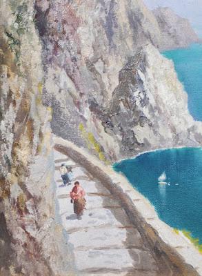 Augusto Radice - Isola di Capri - arte - dipinti - annunci