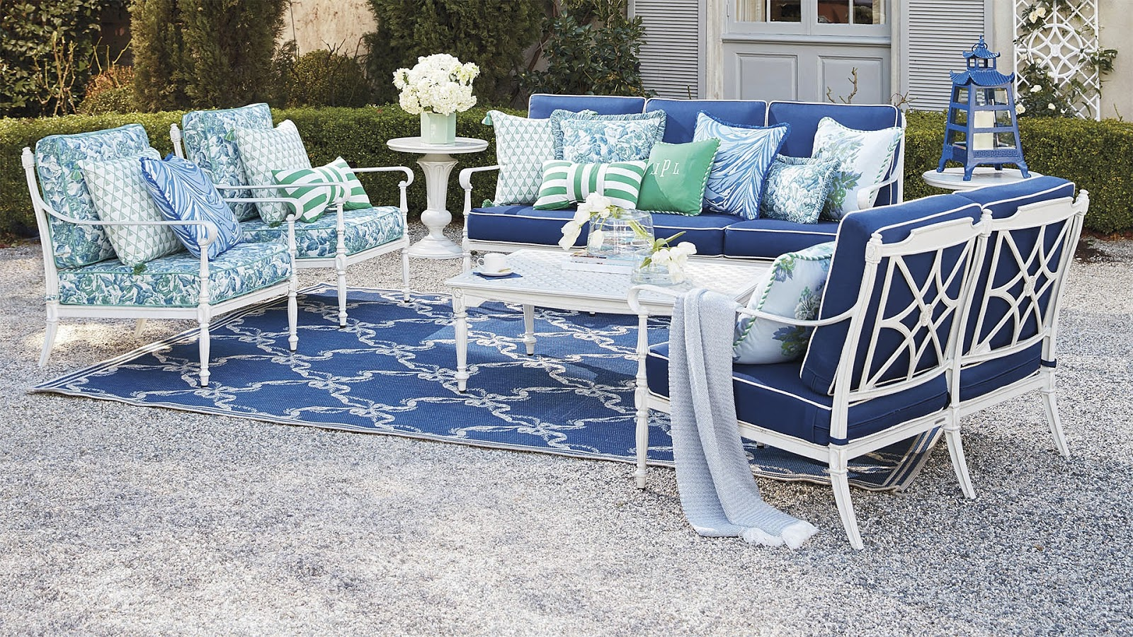 Carelton Varney for Frontgate + Giveaway! - The Glam Pad