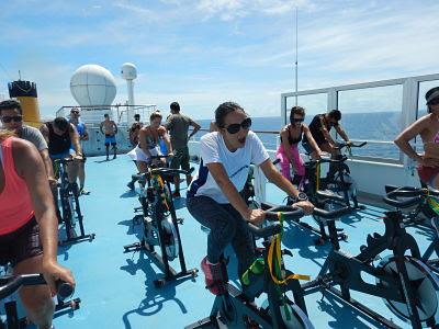 Aula de Bike no Cruzeiro Fitness