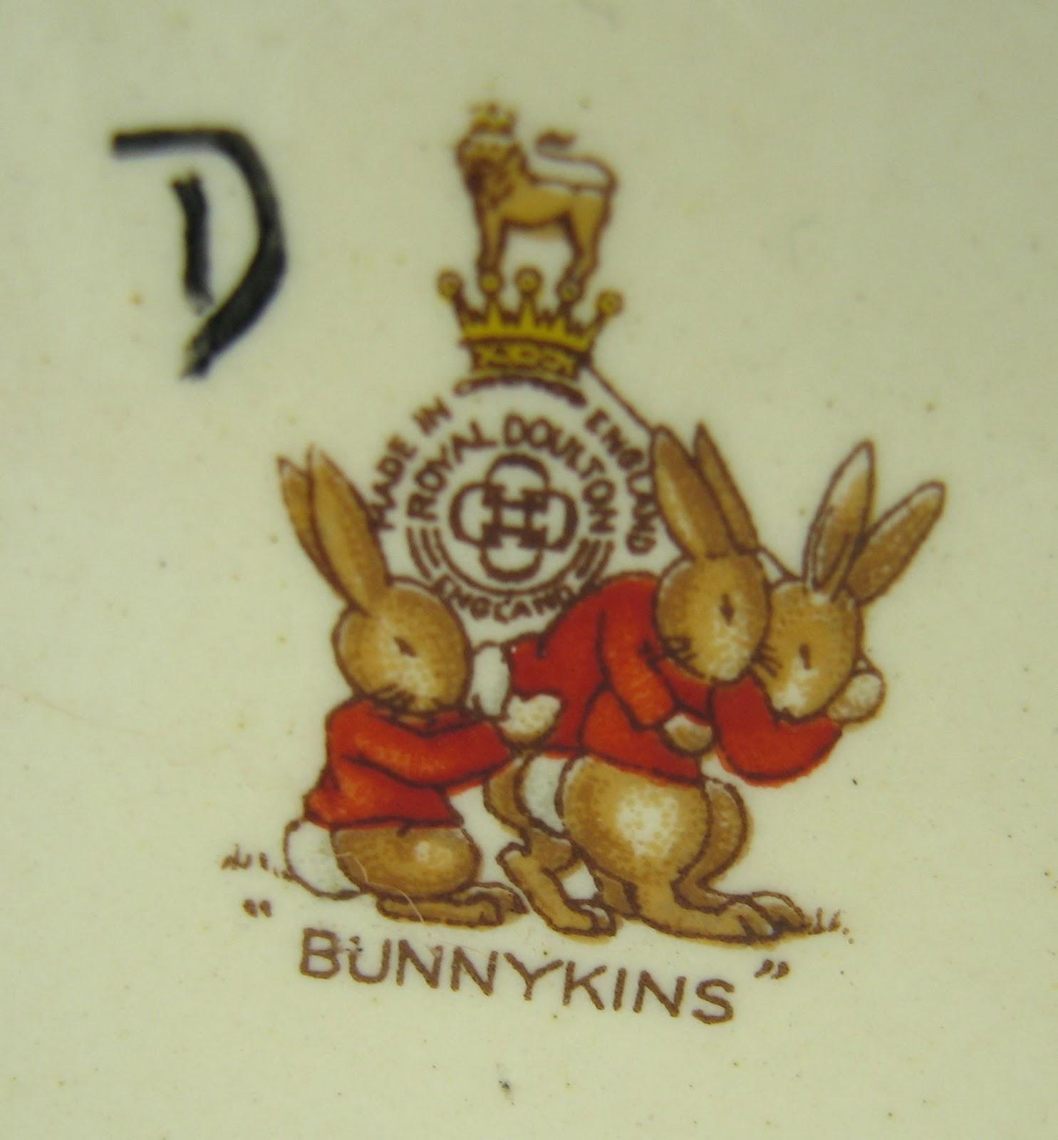 Teacup Lane Our Vintage Bunnykins Set