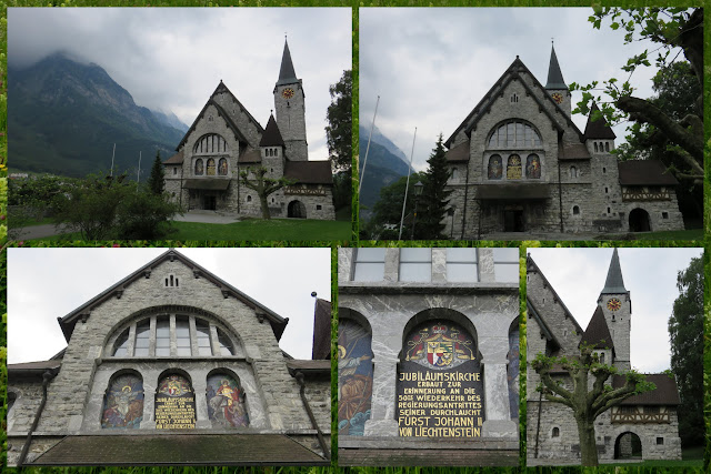 Church in Balzers, Liechtenstein
