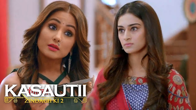 Cat Fight: Prerna cleverly kicks Komolika out of Anurag's room cat fight for big fat in Kasauti Zindagi Ki 2