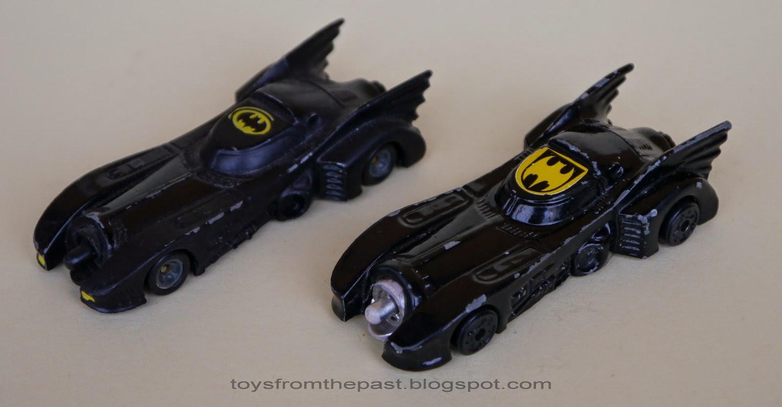 Toys from the Past: #302 ERTL/ METALCAR – BATMOBILE (1989)