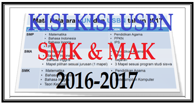 Download Kisi Kisi USBN SMK 2016/ 2017 Pdf
