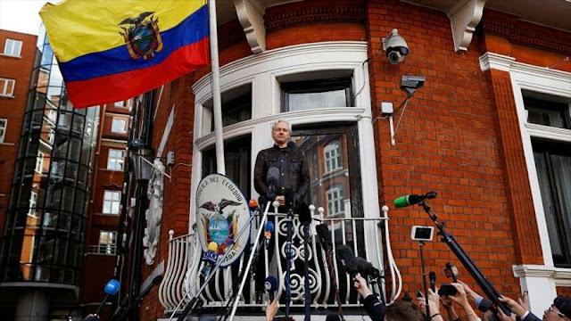 WikiLeaks denuncia extorsiones a Assange y espionaje de Ecuador
