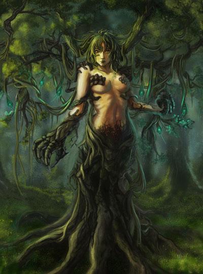 Мистическое существо : Дриада