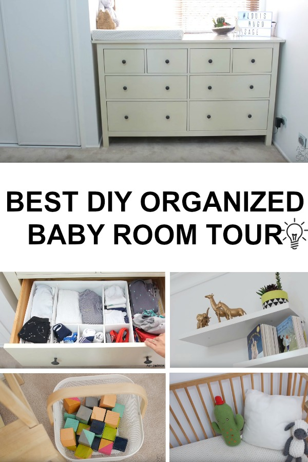 Today Ash Jackson Sharing Baby Organization Tips To Make Life A Little Easier
