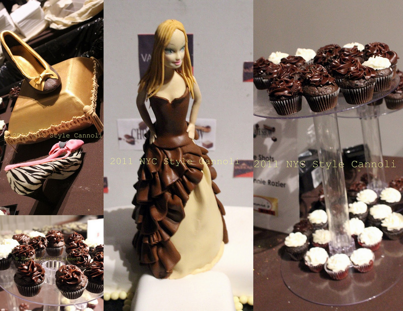The Food at the 2011 Chocolate Fashion Show New York ...