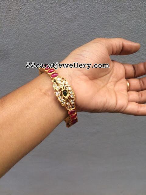 silver latest bangles