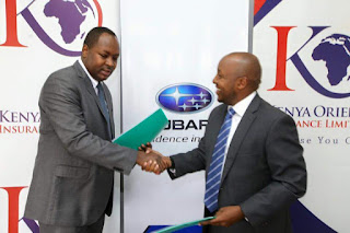 Kenya orient Subaru kenya partnership to offer low price spare parts