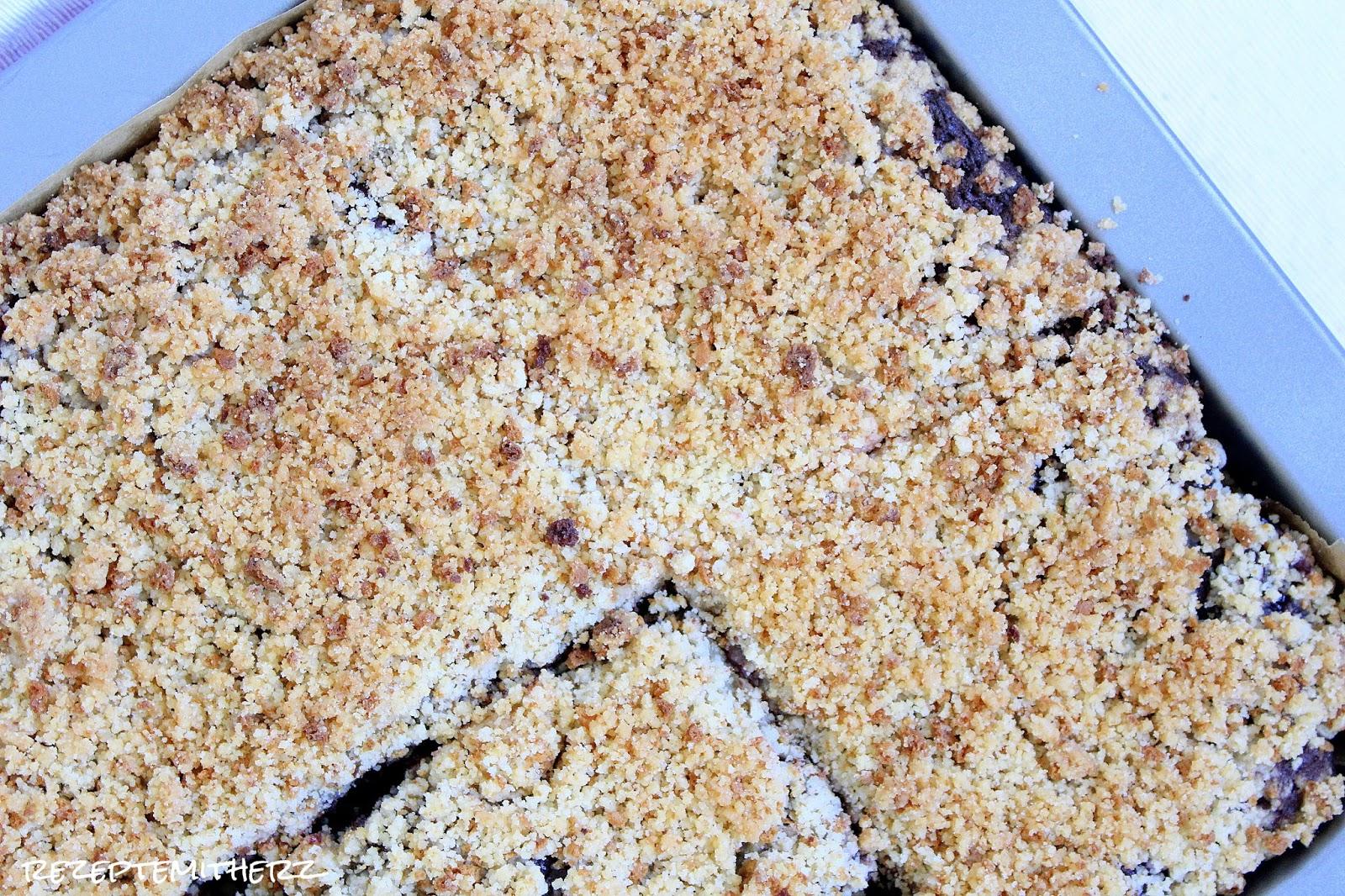 Schoko Kirsch Kuchen Mit Amarettini Streuselschokokuchen Kirsch
