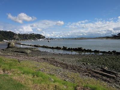Desembocadura del río Whakatane, Nueva Zelanda