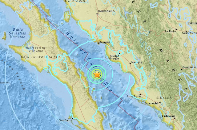 6.3-magnitude Earthquake Strikes in Gulf of California