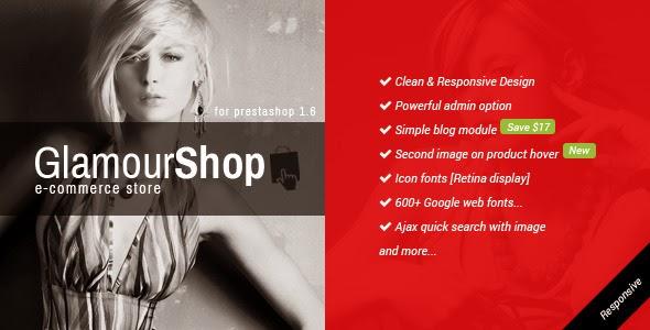 Dwonload Responsive Prestashop 1.6 Theme + Blog