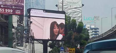 Videotron di Jakarta Selatan Tayangkan Adegan Film 'Jepang', Netizen Heboh!