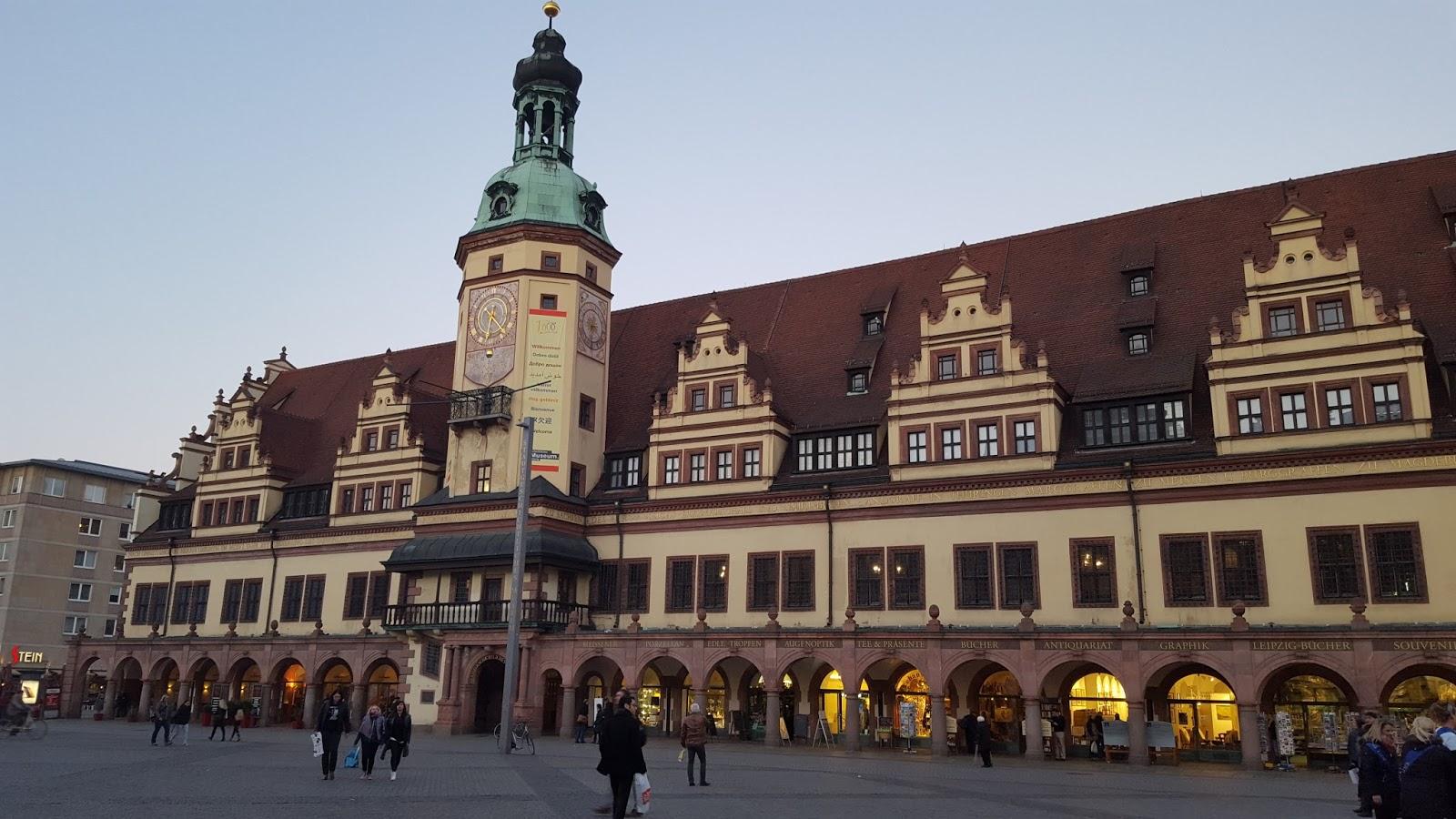 Cafe Stein Leipzig Markt