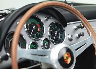 1958 Porsche 356 Speedster Convertible Speedometer