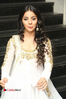 Telugu Actress Mahima Makwana Stills in White Desginer Dress at Venkatapuram Movie Logo Launch  0158.JPG