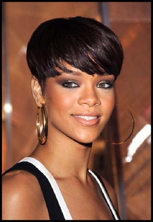 Black Celebrity Short Hairstyle