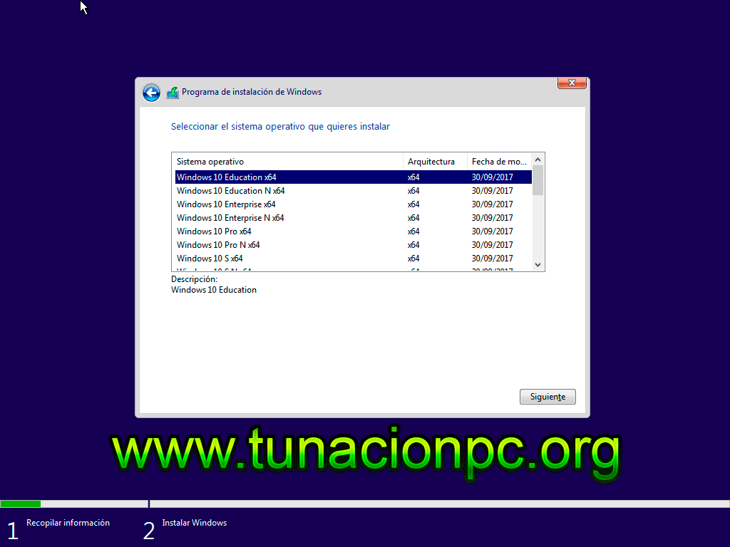 Windows 10 Todo en Uno MSDN RTM/VL