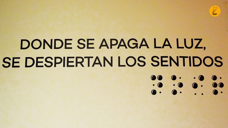 Donde se apaga la luz, se despiertan los sentidos Dans Le Noir? Madrid