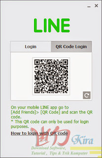 QR Code Line PC Wd-Kira