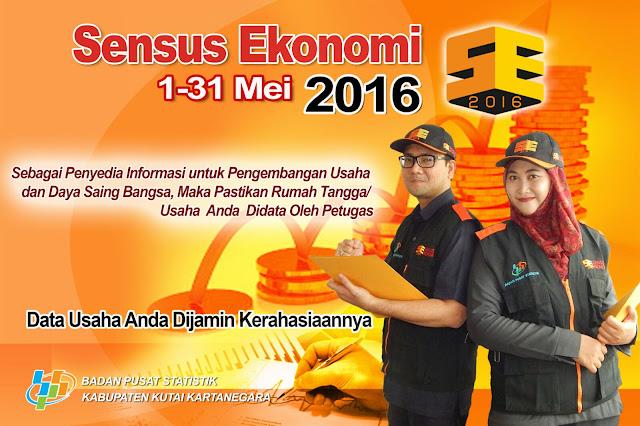 Petugas Sensus Ekonomi BPS 2016