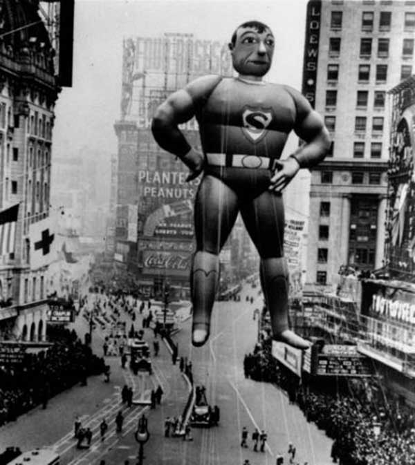 21 November 1940 worldwartwo.filminspector.com Superman Thanksgiving Day Parade