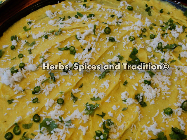 Herbs spices and tradition chickpeas flour roll gujarati khandvi chickpeas flour roll gujarati khandvi forumfinder Image collections