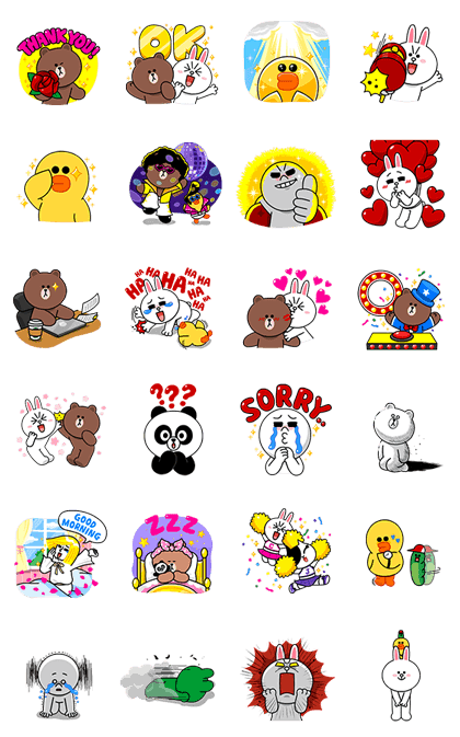 LINE Characters Sound Off!