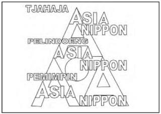 Slogan 3A, Nippon Cahaya Asia, Nippon Pelindung Asia, dan Nippon Pemimpin Asia