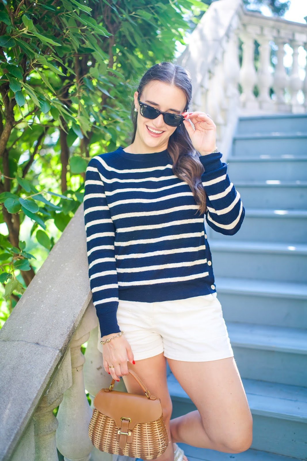 Casual Summer Look featured by popular New York fashion blogger, Covering the Bases