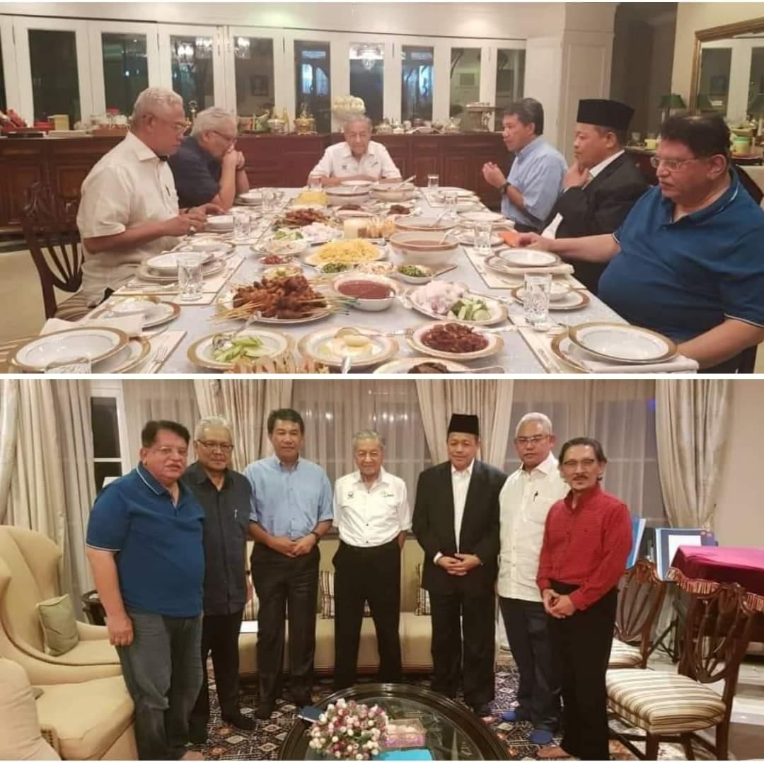 Pemimpin Umno jumpa Mahathir