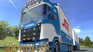 SCS Sties Skin for Scania 2016