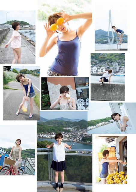 Okada Nana 岡田奈々 Weekly Playboy May 2017 Images