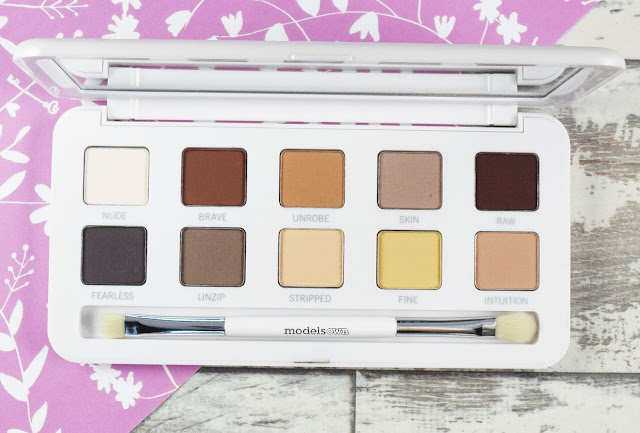 Models Own Dare To Bare Eyeshadow Palette