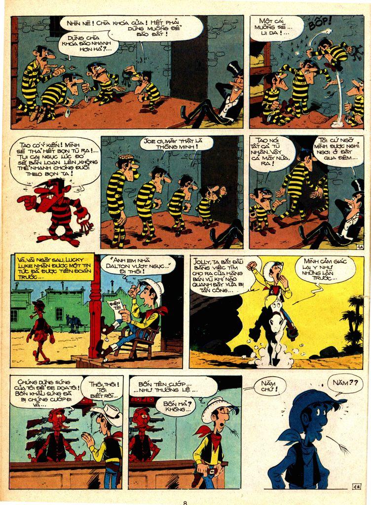 Lucky Luke tap 1 - ban tay nham trang 4