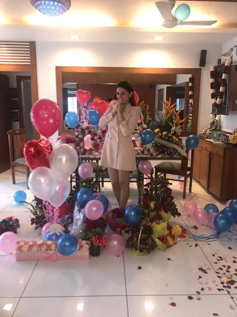 Actress Hansika Birthday Celebrations 2017 Photos
